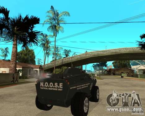 The APC from GTA IV for GTA San Andreas