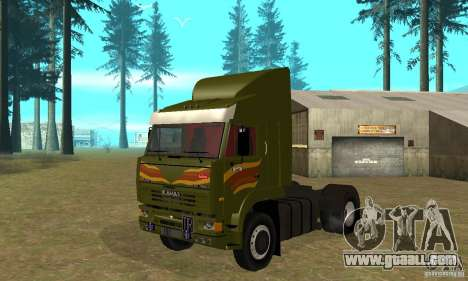 KAMAZ 5460 Skin 3 for GTA San Andreas left view