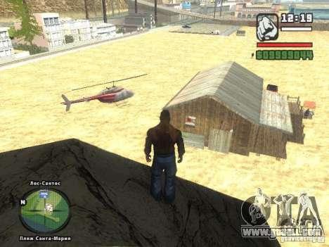 New Beach bar Verona for GTA San Andreas second screenshot