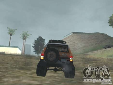 Tornalo 2209SX 4x4 for GTA San Andreas back view