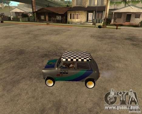 Mini Cooper for GTA San Andreas left view
