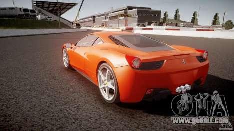 Ferrari 458 Italia 2010 for GTA 4