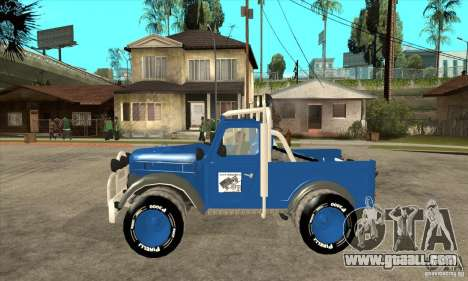 Aro M461 - Offroad Tuning for GTA San Andreas left view