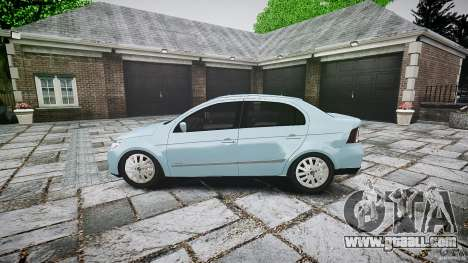 Volkswagen Voyage Comfortline for GTA 4 left view