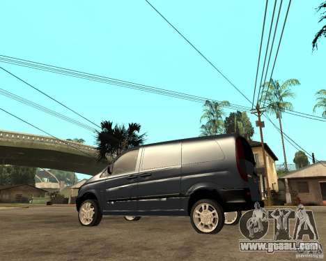 Mercedes-Benz Vito 2009 for GTA San Andreas left view