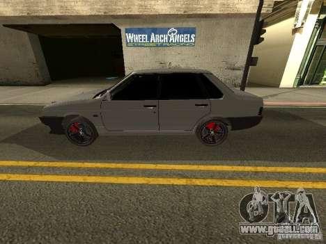 VAZ 21099 Turbo for GTA San Andreas left view