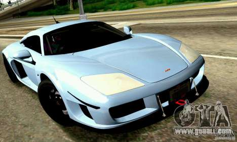 Noble M600 for GTA San Andreas engine