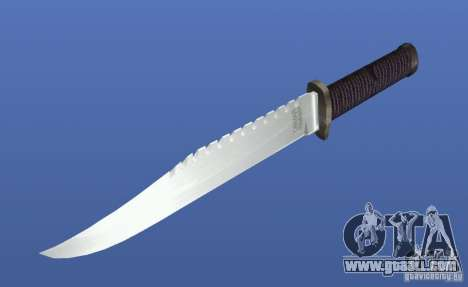 Rambo Knife without signature for GTA 4