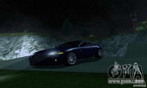 Jaguar XKRS for GTA San Andreas left view