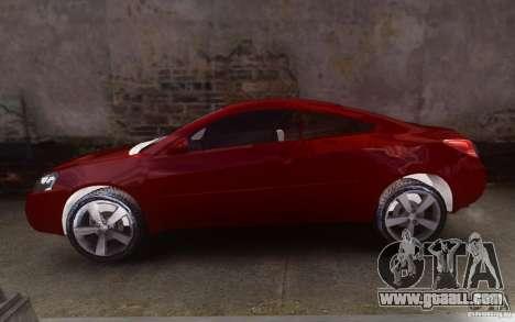 Pontiac G6 for GTA 4 left view