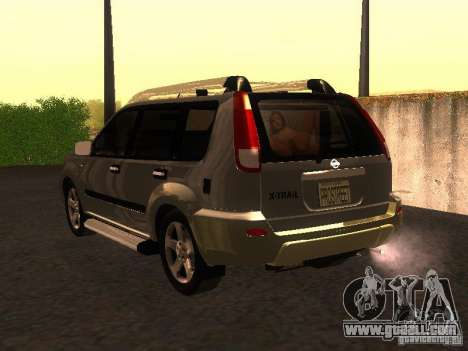 Nissan X-Trail for GTA San Andreas left view