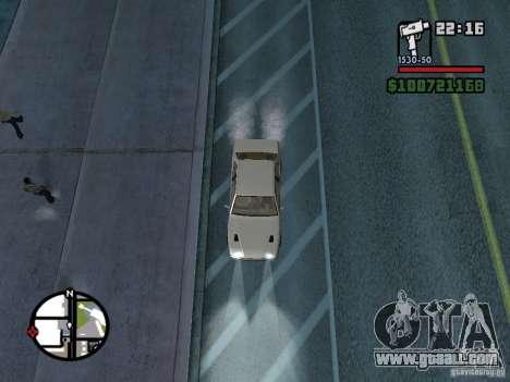 Maserati Ghibli for GTA San Andreas right view