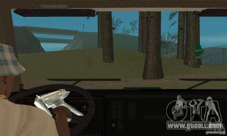 KAMAZ 5460 Skin 3 for GTA San Andreas inner view