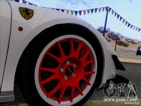 Ferrari 458 Italia Tuned for GTA San Andreas side view