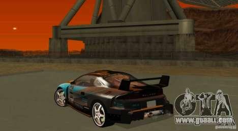 Mitsubishi Eclipse Elite for GTA San Andreas back view