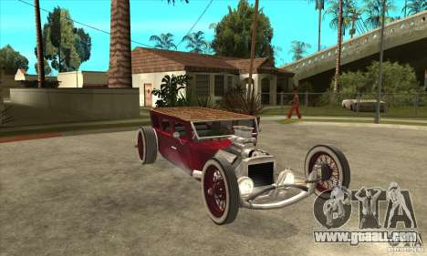 HotRod sedan 1920s no extra for GTA San Andreas back view