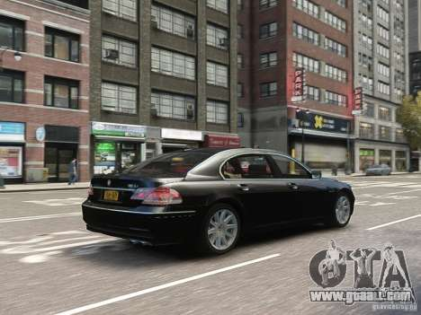 BMW 7 Series E66 2011 for GTA 4 side view