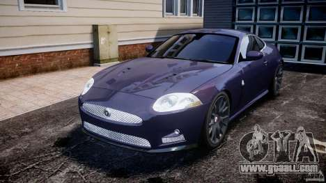 Jaguar XKR-S for GTA 4