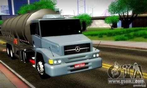 Mercedes-Benz L1620 Tanque for GTA San Andreas
