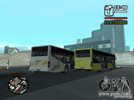 LAZ InterLAZ 12 for GTA San Andreas inner view