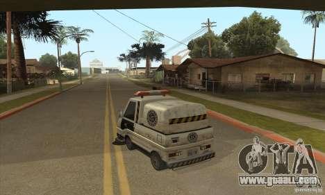 Work Street Sweeper for GTA San Andreas second screenshot