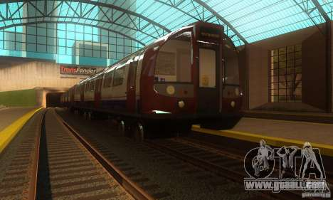 London Metro for GTA San Andreas