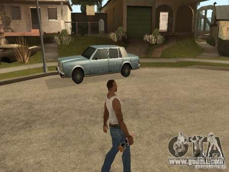 You can sit down, smoke, drink whiskey, vomiting for GTA San Andreas seventh screenshot