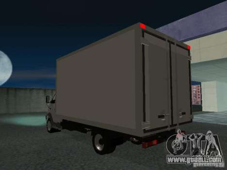 33102 Valday GAZ (long) for GTA San Andreas back left view