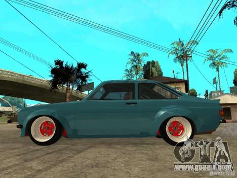 Ford Escort Mk2 for GTA San Andreas left view