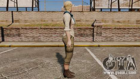 Sherry Birkin for GTA 4 second screenshot