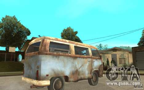 Dharma-Van (VW Typ 2 T2a) for GTA San Andreas right view