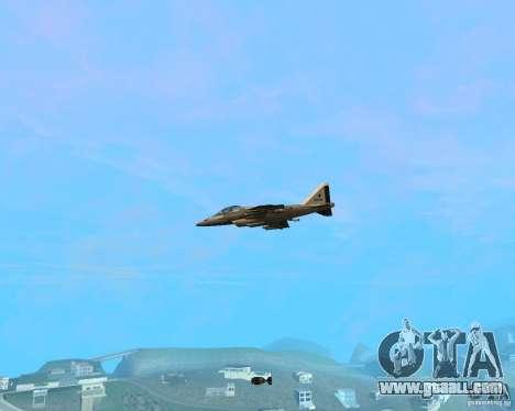 Cluster Bomber for GTA San Andreas third screenshot