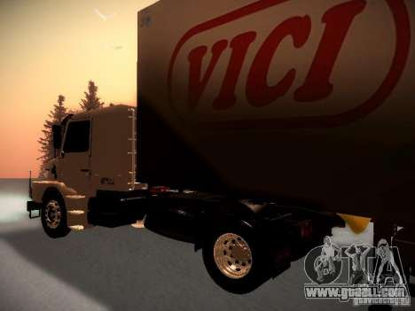 Scania T112 for GTA San Andreas back left view