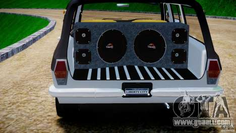 GAZ 24-12 1986-1994 Tuning for GTA 4 bottom view