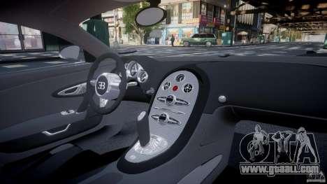 Bugatti Veyron 16.4 v1.0 new skin for GTA 4 upper view