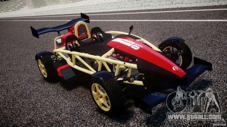 Ariel Atom 3 V8 2012 Custom Mugen for GTA 4