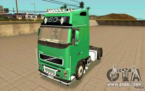 Volvo FH16 Globetrotter Officiel for GTA San Andreas