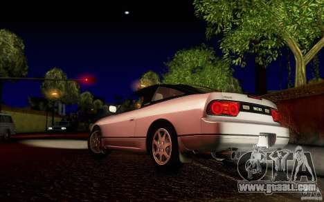 Nissan 180SX Kouki for GTA San Andreas back left view