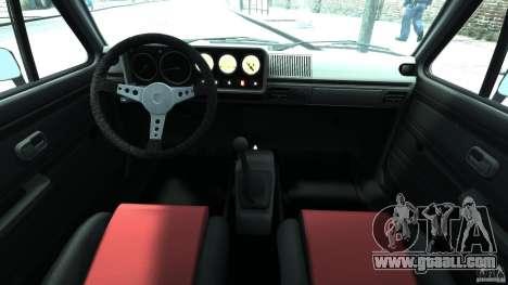 Volkswagen Golf Mk1 Stance for GTA 4 back view