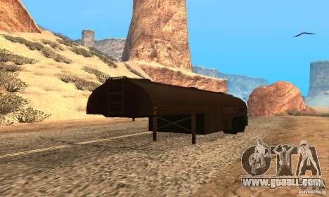 Trailer Duel Peterbilt for GTA San Andreas