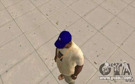 Cap newyorkyankiys purple for GTA San Andreas