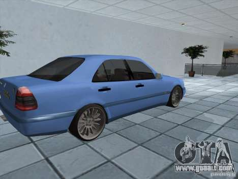 Mercedes Benz C220 for GTA San Andreas back left view