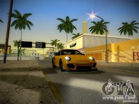 Porsche 997 GT2 for GTA San Andreas inner view