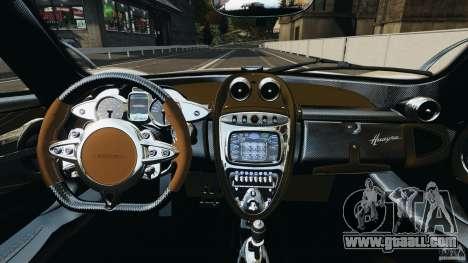 Pagani Huayra 2011 v1.0 [EPM] for GTA 4 back view