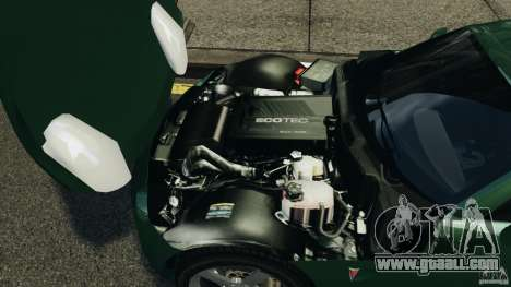 Pontiac Solstice 2009 for GTA 4 back view