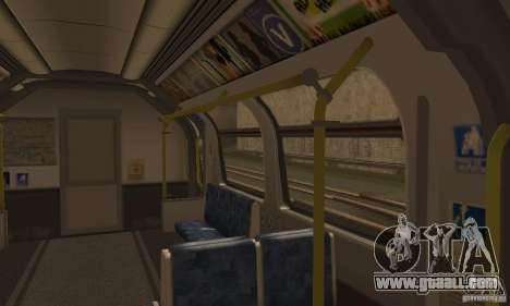 London Metro for GTA San Andreas right view
