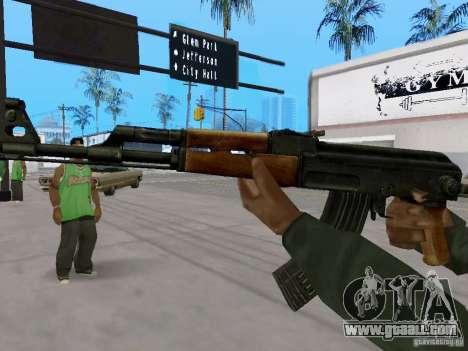 AKC - 47 HD for GTA San Andreas second screenshot