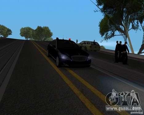 Emergency Lights for GTA San Andreas second screenshot