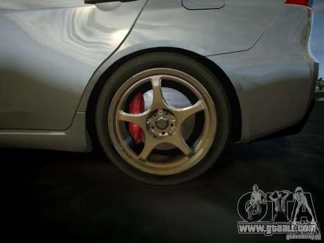 Mitsubishi Lancer Evolution X for GTA 4 right view