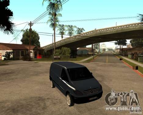 Mercedes-Benz Vito 2009 for GTA San Andreas right view